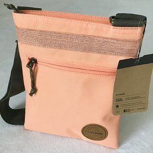 Dakine On the Go Crossbody Bag Travel Purse Coral